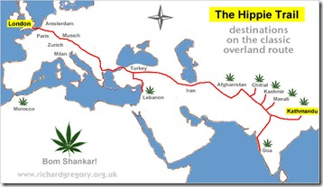 hippie-trail-route